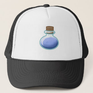 Blue Alchemy Bottle Trucker Hat