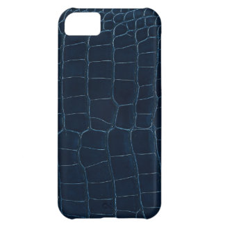 blue alligator skin iPhone 5C cases