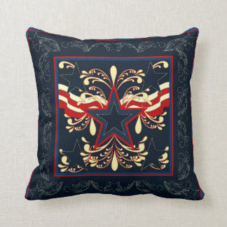 Blue Americana Pillow