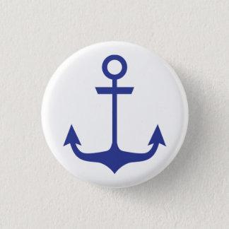 Blue Anchor Button