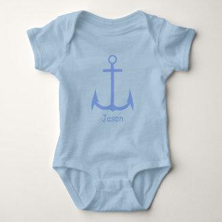 Blue Anchor Custom Baby Bodysuit