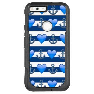 Blue Anchor Emoji Google Pixel XL Otterbox Case