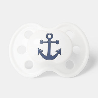 Blue Anchor Pacifiers