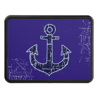 blue anchor trailer hitch cover