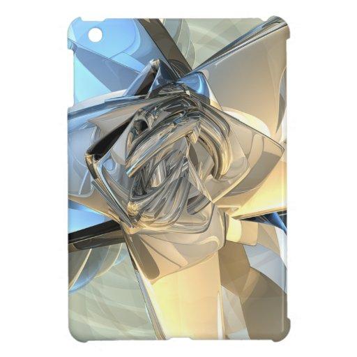 Blue And Beige Bands iPad Mini Case