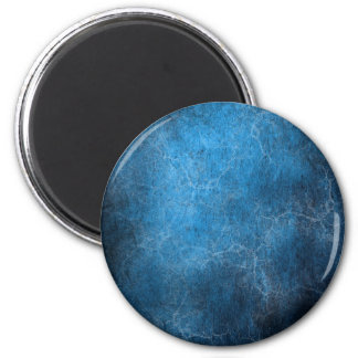 Blue And Black background 2 Inch Round Magnet