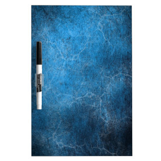 Blue And Black background Dry Erase Board