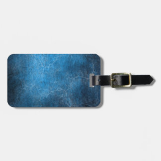 Blue And Black background Luggage Tag