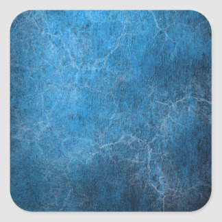 Blue And Black background Square Sticker