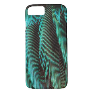 Blue And Black Feather Design iPhone 8/7 Case