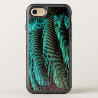 Blue And Black Feather Design OtterBox Symmetry iPhone 8/7 Case