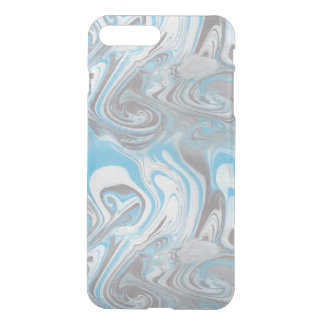 Blue and Black Marble iPhone 7 Plus Case