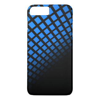 Blue and Black Phone Case