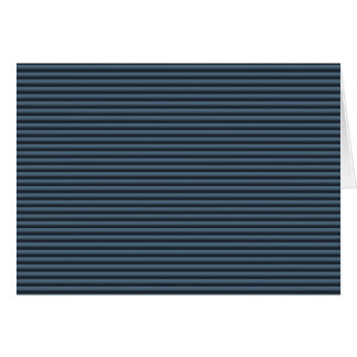 Blue and Black Stripes Card