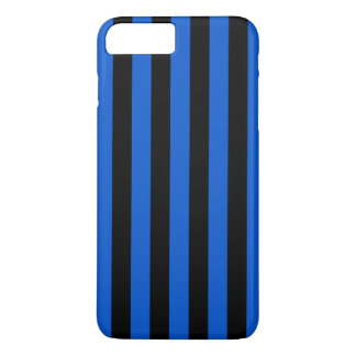 Blue and black stripes,  Inter soccer team, Italy iPhone 8 Plus/7 Plus Case