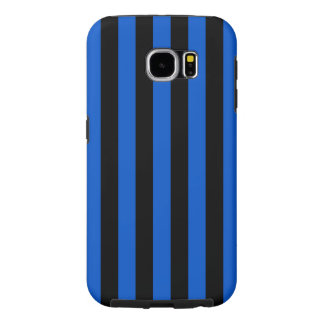Blue and black stripes,  Inter soccer team, Italy Samsung Galaxy S6 Cases