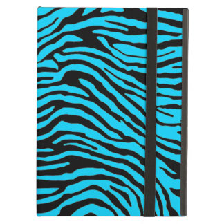 blue and black zebra stripe powis ipad  case iPad air case