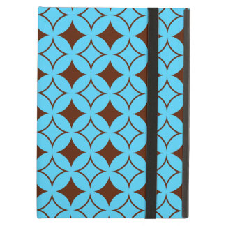 Blue and brown shippo iPad air case