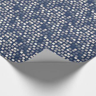 Blue and Cream Mosaic
