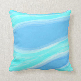 Blue and Cyan Pillow