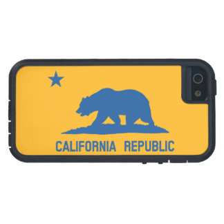 Blue and Gold California Republic Flag iPhone 5 Case