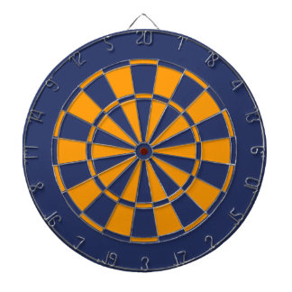 Blue and Gold Dartboards