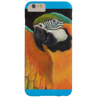 Blue And Gold Macaw Barely There iPhone 6 Plus Case