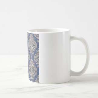 Blue and golden Abstract Art Coffee Mug