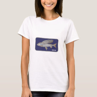 Blue and Gray Grayling T-Shirt