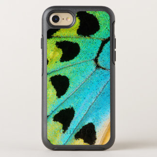 blue and green butterfly wing OtterBox symmetry iPhone 8/7 case