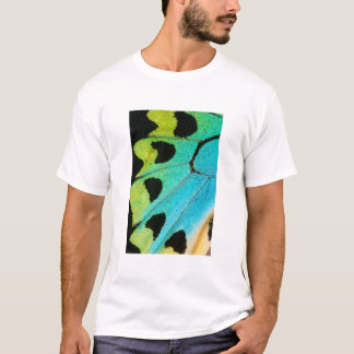 blue and green butterfly wing T-Shirt