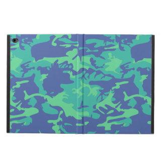 Blue and Green Camo Powis iPad Air 2 Case