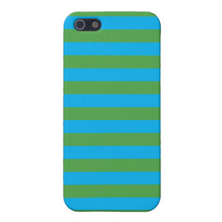 Blue and Green Horizontal Stripes Case For iPhone 5/5S