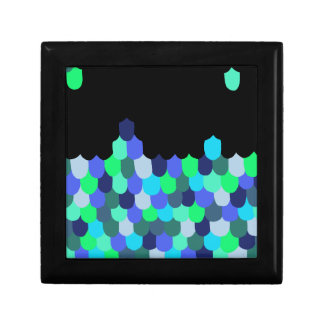 Blue and Green Scales Gift Box