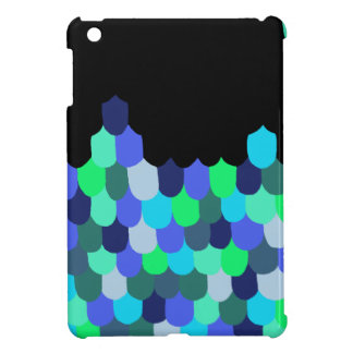 Blue and Green Scales iPad Mini Covers