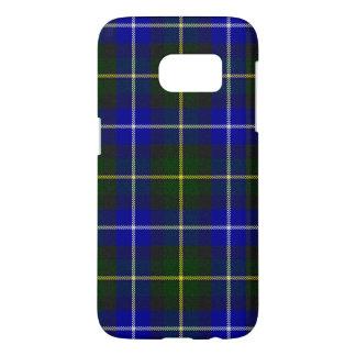 Blue and Green Scottish Clan MacNeil Tartan Samsung Galaxy S7 Case