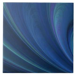 Blue And Green Soft Sand Waves Tile