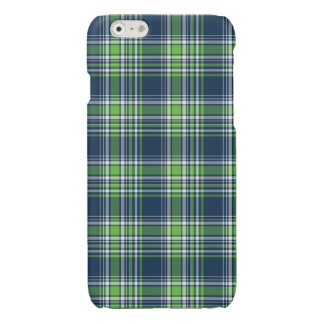 Blue and Green Sporty Plaid iPhone 6 Case