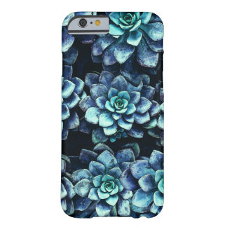 Blue And Green Succulent Plants Barely There iPhone 6 Case
