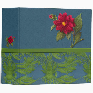 Blue and Green Tapestry Binder