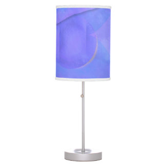 Blue and Lavender Table Lamps