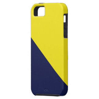 Blue and Maize iPhone 5 Case