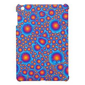 Blue And Orange Bubbles iPad Mini Cover