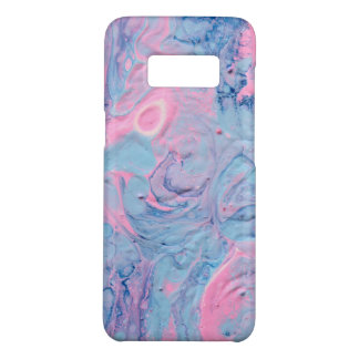 Blue and Pink Acrylic Pour Design Case-Mate Samsung Galaxy S8 Case
