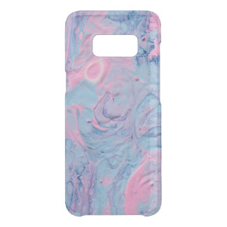 Blue and Pink Acrylic Pour Design Uncommon Samsung Galaxy S8 Case