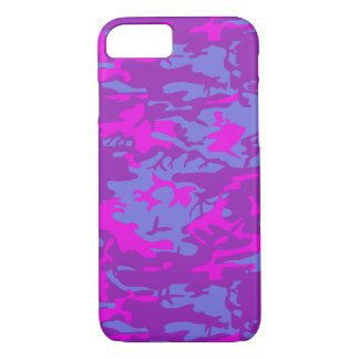 Blue and Pink Camo iPhone 8/7 Case