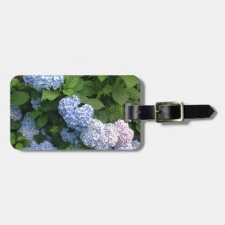 Blue And Pink Hydrangeas Luggage Tag