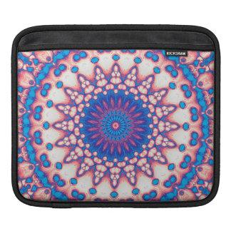 Blue And Pink Mandala iPad Sleeve