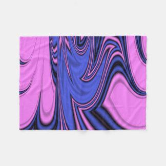 Blue and Pink Polar Art Fleece Blanket