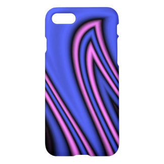 Blue and Pink Polar Art iPhone 7 Case